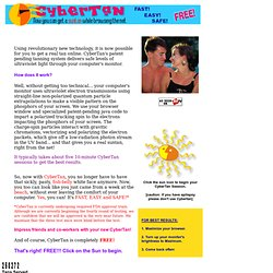 CyberTan - The FREE Internet Tanning Salon
