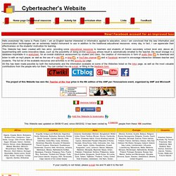 Cyberteacher's Website - Home page