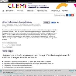 Cyberviolences et discrimination- CLEMI