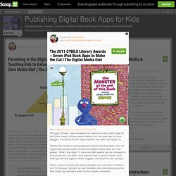 The 2011 CYBILS Literary Awards – Seven iPad Book Apps to Make the Cut | The Digital Media Diet | Publishing iPad Book Apps for Kids