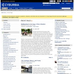 Cyburbia - urban planning community