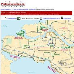 Piste cyclable du West Island: Piste cyclable à Kirkland, Pointe-Claire, Dollard-des-Ormeaux, Pierrefonds dans l'Ouest de Montréal