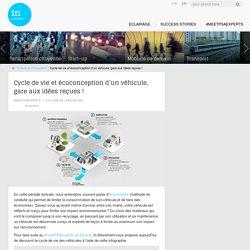 Cycle de vie automobile : gare aux idées reçues !