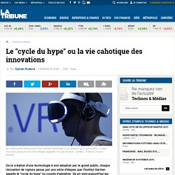"Le ""cycle du hype"" ou la vie cahotique des innovations"