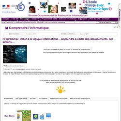 Cycle 3 - Comprendre l'informatique