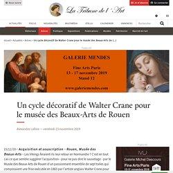 Un cycle décoratif de Walter Crane pour le musée des Beaux-Arts de Rouen