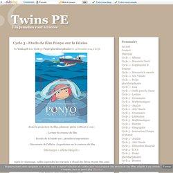 Cycle 3 - Etude du film Ponyo sur la falaise - Twins PE