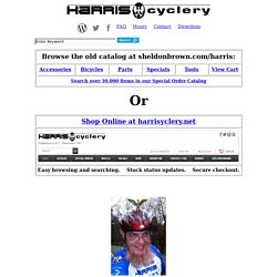 Harris Cyclery-West Newton, Massachusetts Bicycle Shop