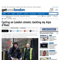 Cycling on London streets: tackling my Alpe d'Huez