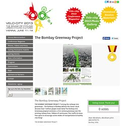 Velo City – Cycling Visionaries Awards – Project Details