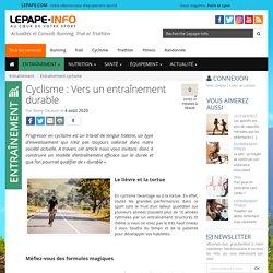 Cyclisme : Vers un entraînement durable