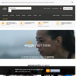 Wiggle France | Cyclisme | Course | Natation | Triathlon