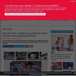 Tour de France : combien de cyclistes sont morts sur cette course mythique ?... - Telestar.fr