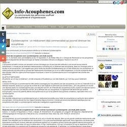 Cyclobenzaprine : un médicament déjà commercialisé qui pourrait diminuer les acouphènes