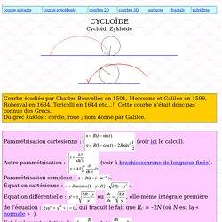 Cycloïde