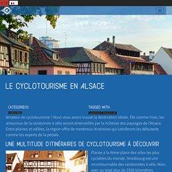 Le cyclotourisme en Alsace