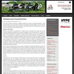 S'équiper pour le cyclotourisme