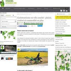 Cyclotourisme et vélo couché