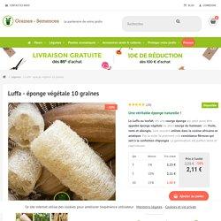 Luffa cylindrica en sachet de 10 graines