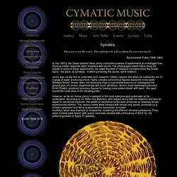 Cymatic Music
