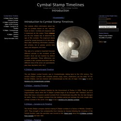 Cymbal Stamp Timelines