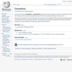 Cymopoleia