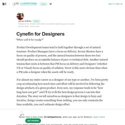 Cynefin for Designers – 13 Antipatterns – Medium