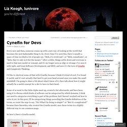 Cynefin for Devs