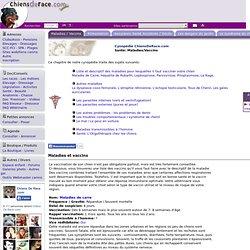 Les maladies du chien et du chiot avec Chiens De Race .com (Cynopédie ChiensDeRace.com)