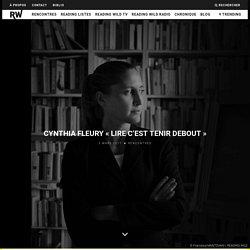CYNTHIA FLEURY «LIRE C'EST TENIR DEBOUT» – READING WILD™