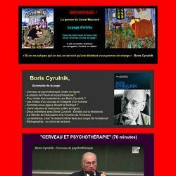 """Boris Cyrulnik et le """"concept"""" de résilience ?"""