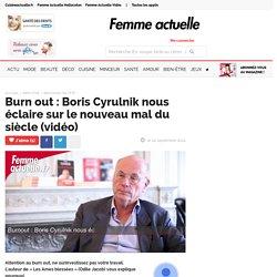Burn out : Boris Cyrulnik nous éclaire sur le nouveau mal du siècle (vidéo)