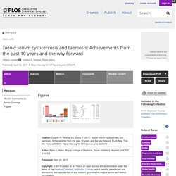 PLOS 20/04/17 Taenia solium cysticercosis and taeniosis: Achievements from the past 10 years and the way forward