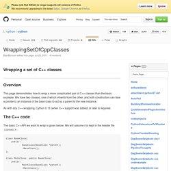 WrappingSetOfCppClasses · cython/cython Wiki