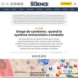 Orage de cytokines : quand le système immunitaire s'emballe