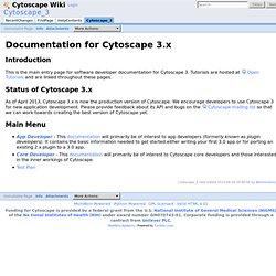 Cytoscape_3 - Cytoscape Wiki
