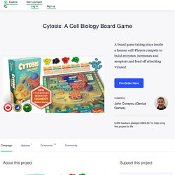 Cytosis: A Cell Biology Board Game by John Coveyou (Genius Games)