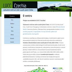 LUCC Czechia – Výzkumné centrum změn využití ploch Česka – Další web používající WordPress