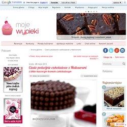 Ciasto podwójnie czekoladowe z Malteserami