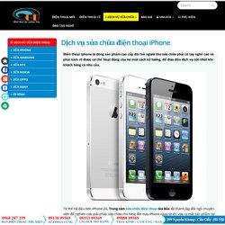 Dịch vụ sửa chữa điện thoại iPhone