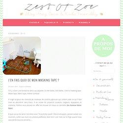 Zest Of Zoe