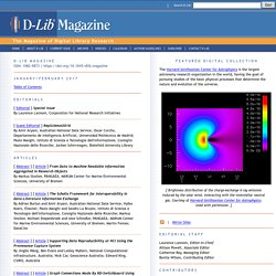 D-Lib Magazine