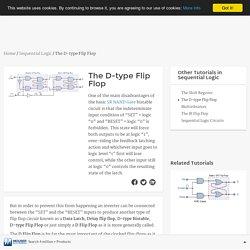 D-type Flip Flop Counter or Delay Flip-flop