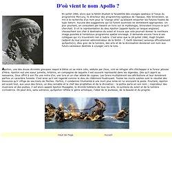 D'où vient le nom Apollo ?