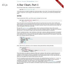 A Bar Chart, Part 1