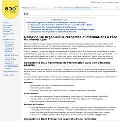 D4 - WikiC2i