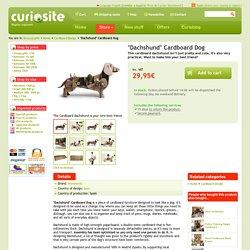 """""""Dachshund"""" Cardboard Dog. Curiosite"""