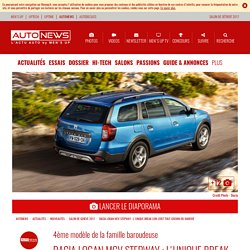 Dacia Logan MCV Stepway : break low-cost tout-chemin