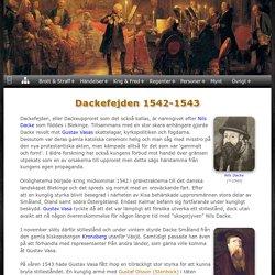 Dackefejden 1542-1543