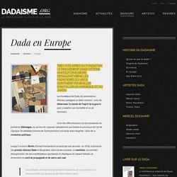 DADAISME / Dada en Europe